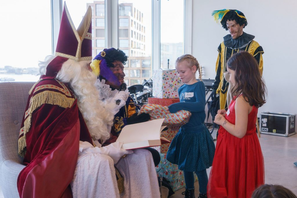 Meeting Sinterklaas at Emakina